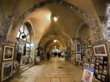 The Cardo in the Jewish Quarter Fotografisk tryk af Izzet Keribar