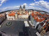 Old Town Square from Old Town Hall Tower Fotografie-Druck von Christopher Groenhout