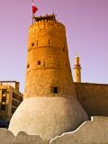 Exterior of Historic Dubai Museum Reproduction photographique par Glenn Beanland