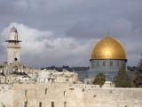 The Dome of the Rock (Masjid Qubbat As-Sakhrah) Fotografisk tryk af Izzet Keribar