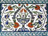 Iznik Tiles Detail at Hunkar Kasri Fotografisk tryk af Izzet Keribar