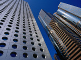 Jardine House and the Exchange Square Towers in Central Photographic Print by Krzysztof Dydynski