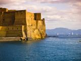 The 12th Century Castel Dell'Ovo Reproduction photographique par Glenn Beanland