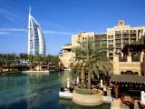Burj Al Arab and Medinat Hotels Photographic Print by Jean-pierre Lescourret