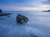 Dusk on the Southern Crete Coastline Photographic Print by Gareth McCormack