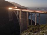 Bixby Bridge Along the Big Sur Coastline Fotografisk trykk av Douglas Steakley