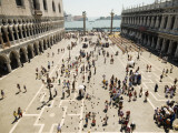 Piazzetta San Marco from Terrace of Basilica Di San Marco Reproduction photographique par Krzysztof Dydynski