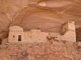 Canyon Del Muerto, Mummy Cave Ruin Fotografie-Druck von John Elk III