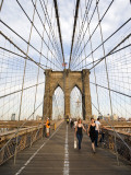 Brooklyn Bridge, New York Fotografie-Druck von Christopher Groenhout