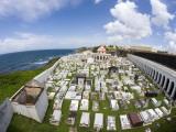 San Juan Cemetery, Old San Juan Fotografisk trykk av Christopher Groenhout