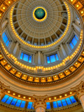 Interior of Capitol Rotund Photographic Print by David Ryan
