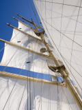 Star Clippers' Star Flyer Sailing Ship in the Aegean Sea Stampa fotografica di Holger Leue