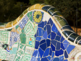 Parc Guell by Antoni Gaudi Photographic Print by Jean-pierre Lescourret