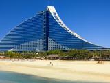 Jumeirah Beach Hotel Photographic Print by Jean-pierre Lescourret