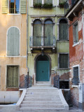 Old Building Entrance and Facades Reproduction photographique par Christopher Groenhout