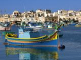 Marsaxlokk Harbour Photographic Print by Jean-pierre Lescourret