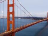 Golden Gate Bridge from Vista Poin Reproduction photographique par Orien Harvey