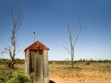 Classic Australian Outdoor Toilet (Dunny) Photographic Print by Rachel Lewis