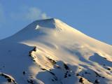 Volcán Villarrica, Lake District Fotografisk tryk af Paul Kennedy