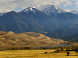 Medano Creek in Great Sand Dunes National Park and Preserve Photographic Print by Stephen Saks