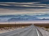 Spring Mountains in Nevada with Charleston Peak at Right Fotografie-Druck von Witold Skrypczak