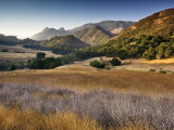 Malibu Creek State Park, from Mulholland Highway in Santa Monica Mountains Near Malibu Photographic Print by Witold Skrypczak