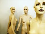 Female Mannequins Fotografie-Druck von Oliver Strewe