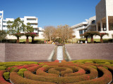 Gardens at Getty Museum Photographic Print by Aaron McCoy