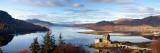 Eilean Donan-borgen Fotografisk tryk af Sean Caffrey