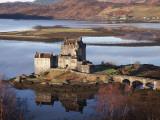 Slottet Eilean Donan Fotoprint av Sean Caffrey