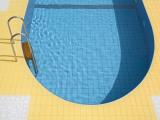 Swimming Pool Fotografisk trykk av Richard Cummins