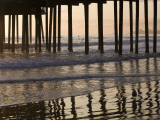 Pacific Ocean and Pismo Beach Pier Reproduction photographique Premium par Brent Winebrenner
