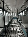 Inside of Bengali Bus Impressão fotográfica por April Maciborka