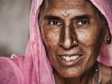 Portrait of Elderly Lad Lámina fotográfica por April Maciborka