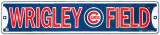 Wrigley Field Metalen bord