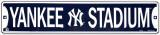 Stadion van de Yankees Metalen bord