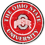 Ohio State University Tin Sign
