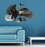 Aigles à tête blanche Autocollant mural