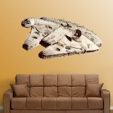 Millenium Falcon (sticker murale) Decalcomania da muro