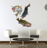 Large Mouth Bass Wall Decal