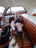 Billy F. Gibbons Hot Rod Fotografisk tryk af David Perry
