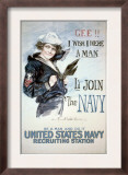 Gee!! I Wish I were a Man, circa 1918 Posters por Howard Chandler Christy