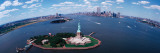 USA, New York, Statue of Liberty Wallstickers af Panoramic Images,