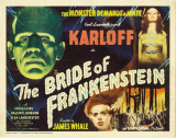 The Bride of Frankenstein Stampa master