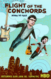 The Flight of the Conchords Masterprint