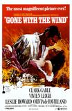 Filmposter Gejaagd door de wind, Gone With The Wind, 1939 Masterprint