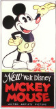 A New Walt Disney Mickey Mouse Affiche originale