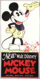 En ny Walt Disney Mickey Mouse, på engelsk Masterprint