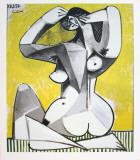 Nu Accroupi Impressão colecionável por Pablo Picasso