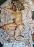 Hudfarvet Samlertryk af David Hockney